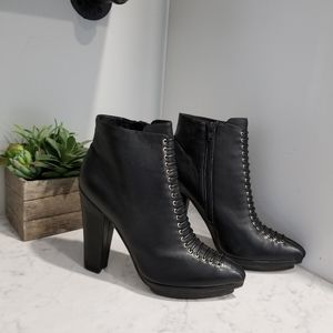 👢JEFFREY CAMPBELL LEATHER ANKLE BOOTS
